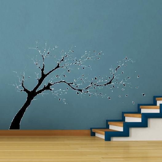 Efterårstræ wallsticker