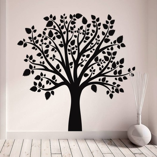 Elmetræ wallsticker