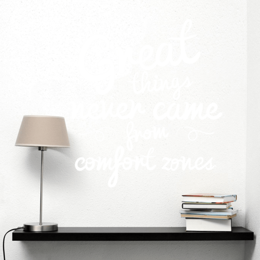 Great things wallsticker