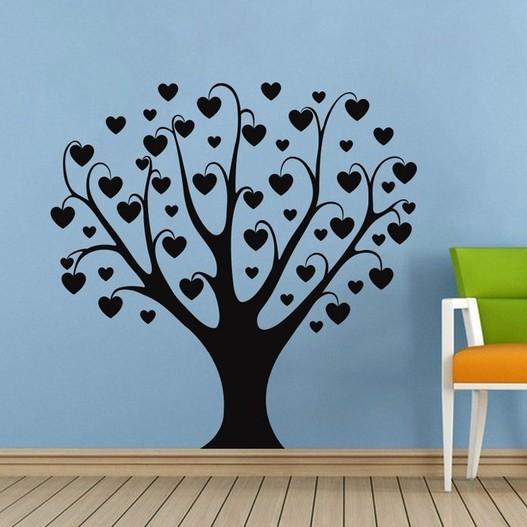 Kærlighedstræ wallsticker