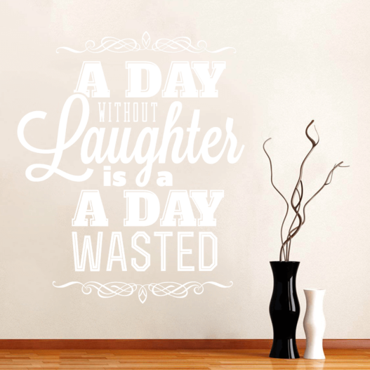Laughter wallsticker