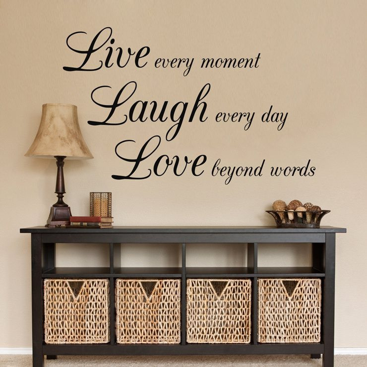 live laugh love wallsticker fra 149 kr live laugh love inspriational family wall sticker quote