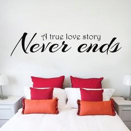 Love story wallsticker