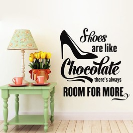 More chocolate wallsticker