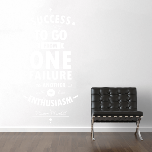 What is success wallsticker