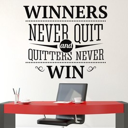 Winners wallsticker