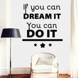 You can do it wallsticker