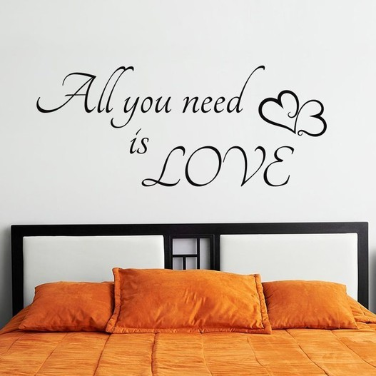 All you need wallsticker