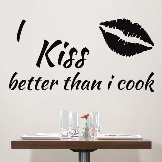 Better than i cook wallsticker