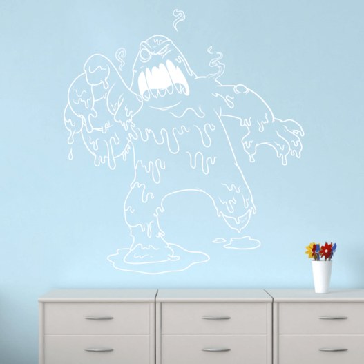 Slimmonster wallsticker
