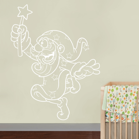 Troldmand wallsticker