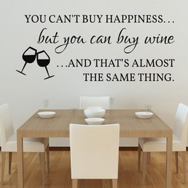 Buy wine wallsticker