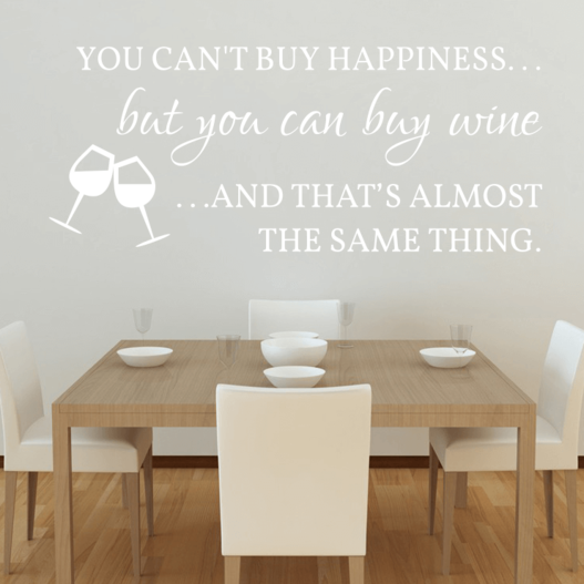Buy wine wallsticker