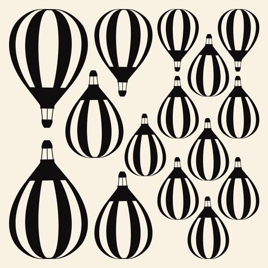 Luftballoner wallsticker