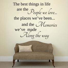 People we love wallsticker