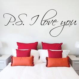 P.S. I love you wallsticker