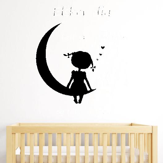 Elsk din datter wallsticker