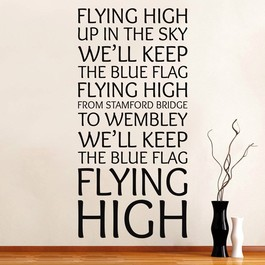 Chealsea - flying high wallsticker