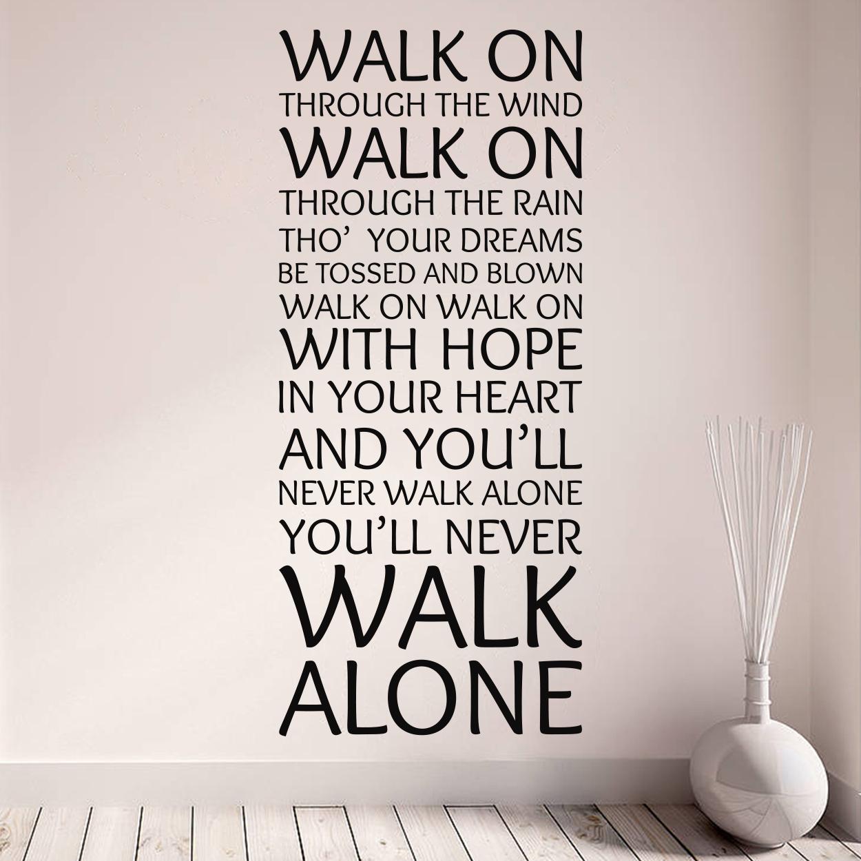 liverpool never walk alone wallsticker fra 169 kr pics photos liverpool fc wall decal