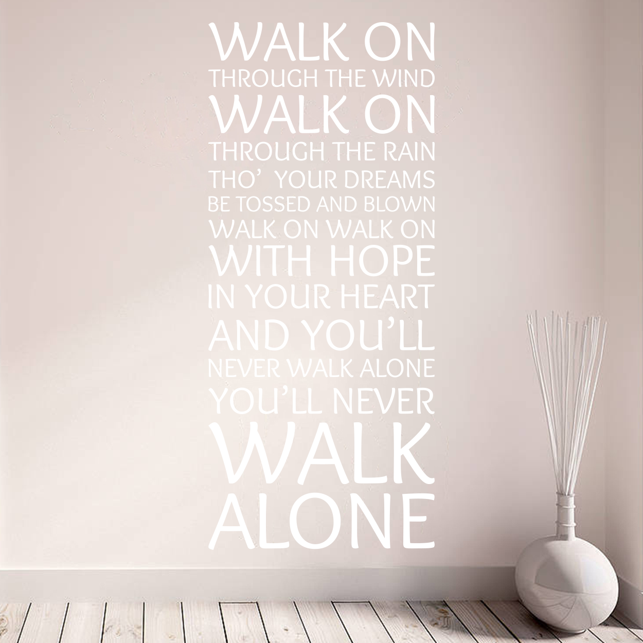 liverpool never walk alone wallsticker fra 169 kr jual wall sticker liverpool wallsticker surabaya tokopedia