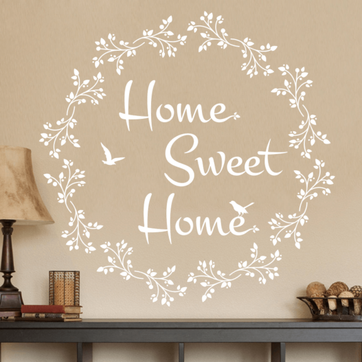 #2 Home Sweet Home wallsticker