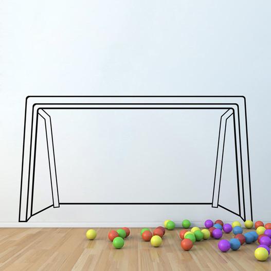 Fodboldmål 2 wallsticker
