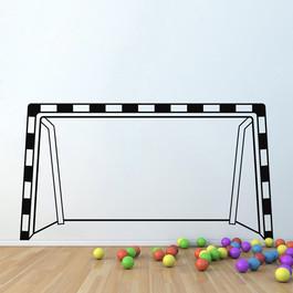 Håndboldmål wallsticker