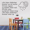 Lille Peter edderkop wallsticker