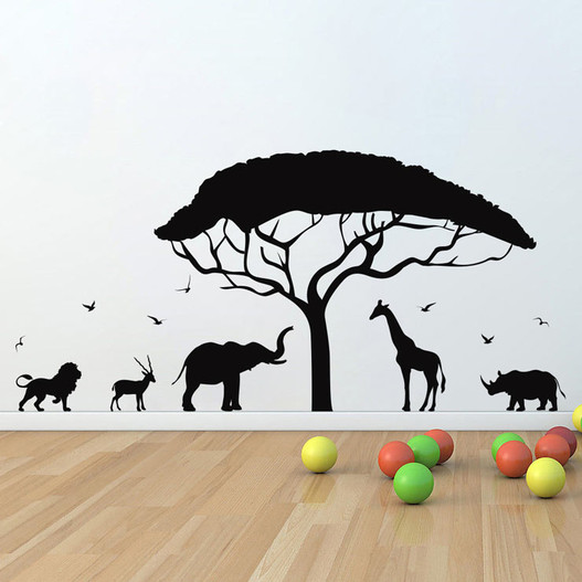 Safari wallsticker