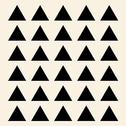 wallsticker trekanter med 3cm i højde