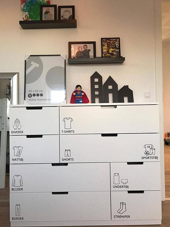 Børnemærker kundebillede1 wallsticker