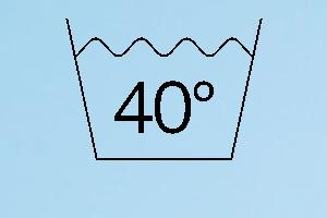 Vaskemærke 40