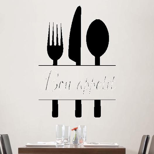 #1 Bon appetit wallsticker