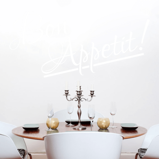 #2 Bon appetit wallsticker