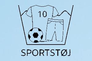 Vaskemærke sportstøj