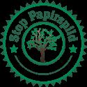 Stop Papirspild mærket