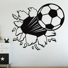 Fodbold wallsticker