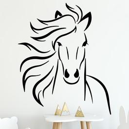 Flot hest wallsticker, heste wallstickers