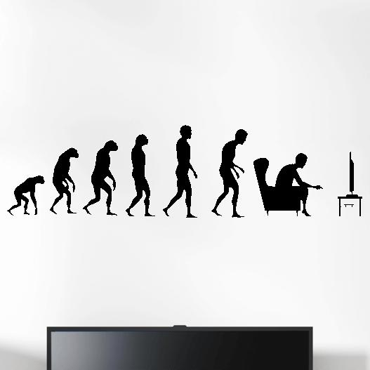 Gamer wallsticker med evolution konsol. Sej wallstickers til børneværelset
